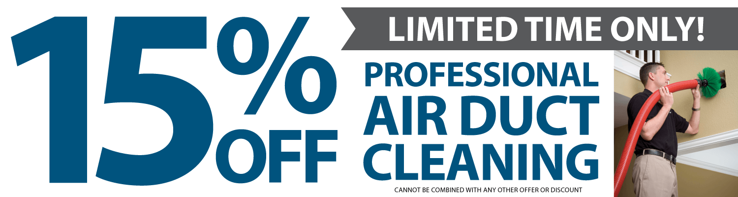 15% off air duct cleaning